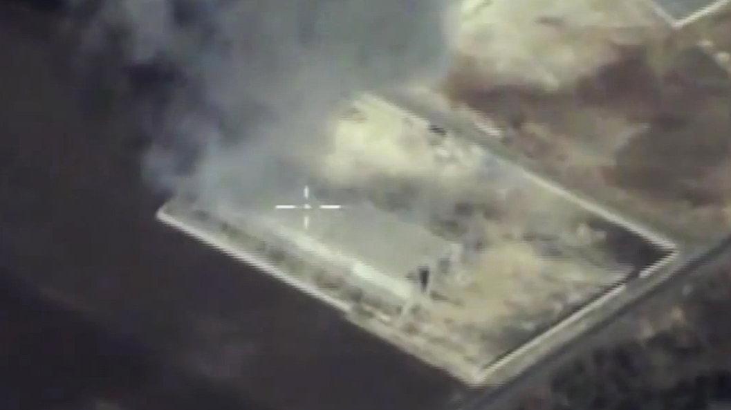 Ataque con misil Ónix contra un almacén de armas y material militar de organizaciones terroristas en Siria.