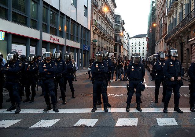 Los policías de España (archivo)
