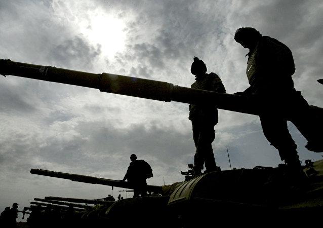 Base militar de Besmayah en Irak