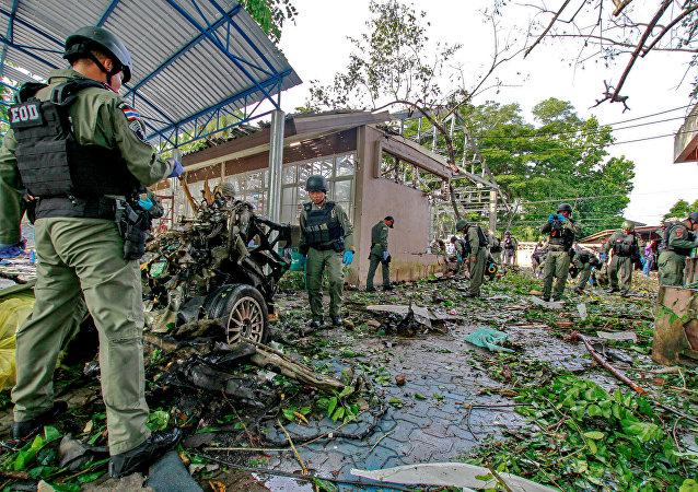 Explosión en Tailandia (archivo)