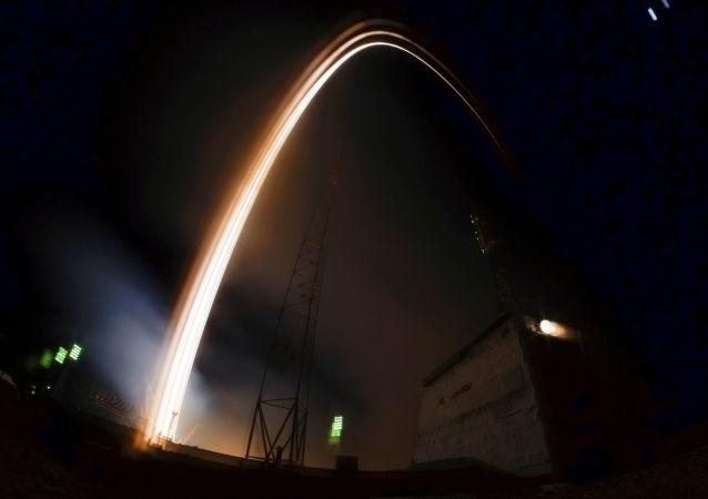 El lanzamiento del cohete portador Soyuz MS-03, Baiconur (archivo)