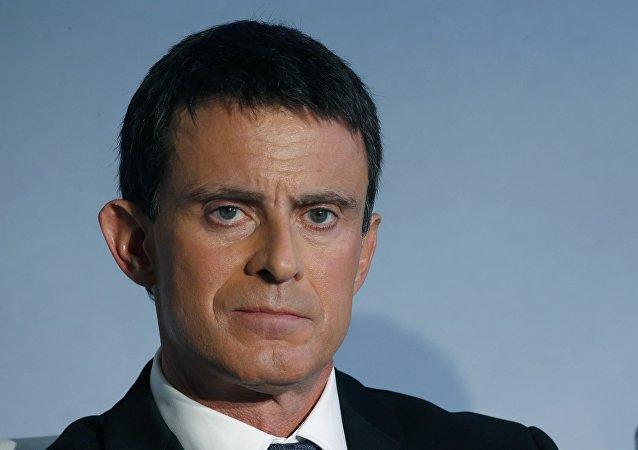 Manuel Valls,político francés
