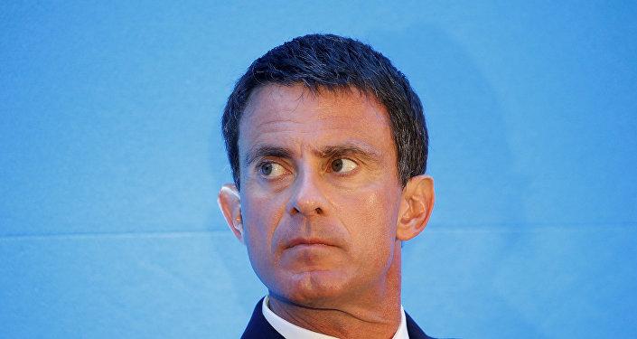 Ex primer ministro francés Manuel Valls