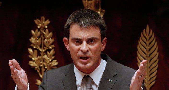 Manuel Valls, ex primer ministro y actual precandidato de la izquierda a la Presidencia de Francia
