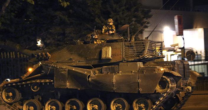 Intento de golpe de estado en Turquía (archivo, julio 2016)