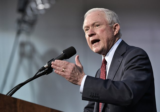 Jeff Sessions, fiscal general de EEUU (archivo)
