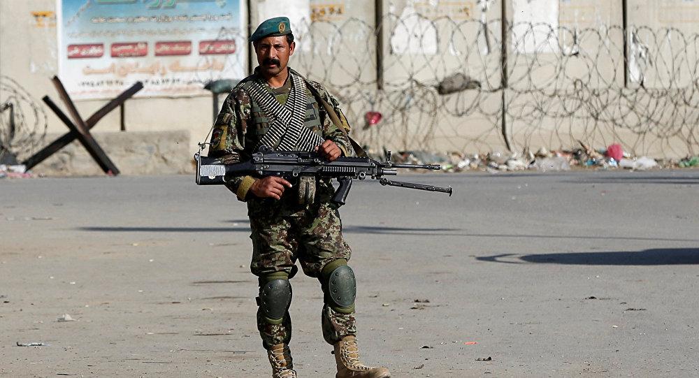 Soldado del Ejército de Afganistán (archivo)