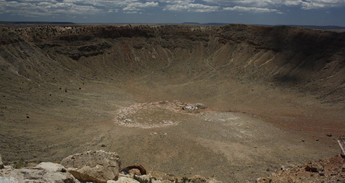 Un cráter