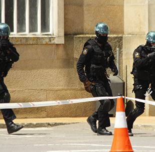 Policía española