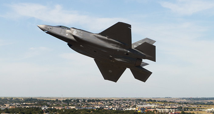 Avión de caza estadounidense F-35