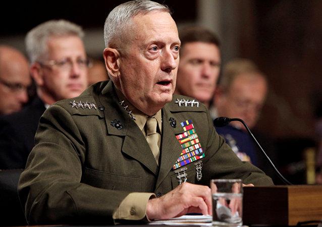 James Mattis, general retirado del Cuerpo de Marines de Estados Unidos