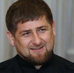 Ramzán Kadírov, líder checheno
