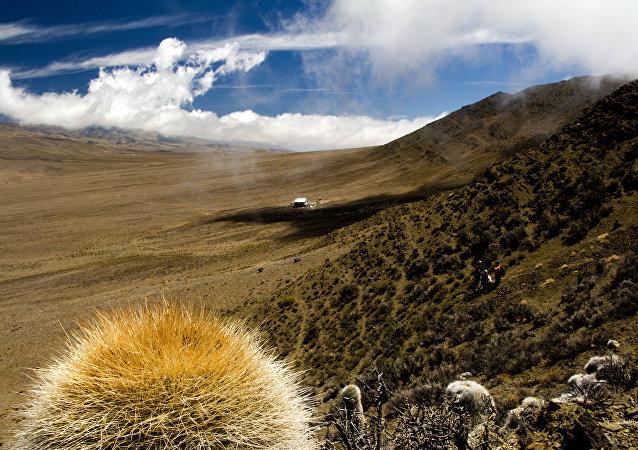 Vistas de la provincia de San Juan, Argentina (foto ilustrativa)