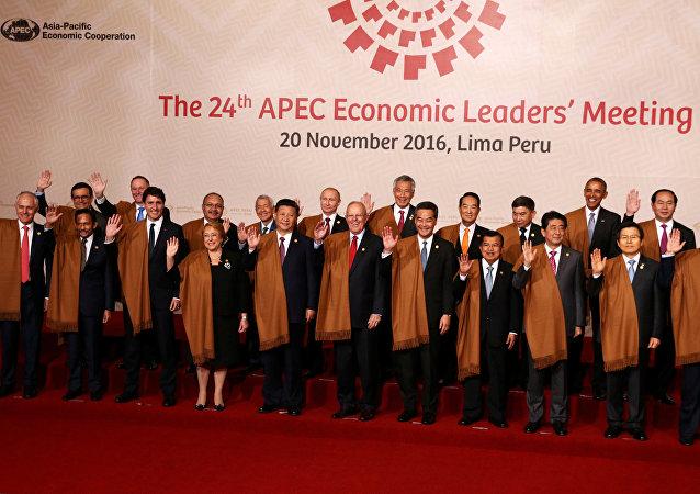 La cumbre de APEC en Lima