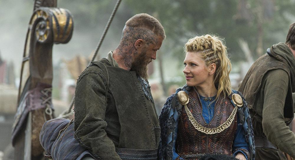 Escena del episodio 3 de la serie televisiva 'Vikingos' de History Channel