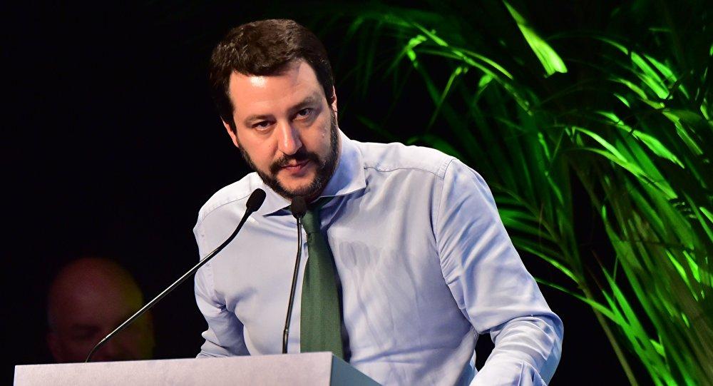 Matteo Salvini, el vice primer ministro y ministro del Interior de Italia