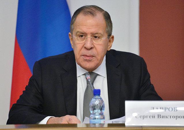 Serguéi Lavrov, el ministro ruso de Exteriores