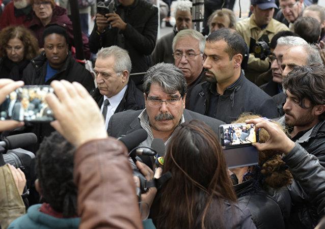 Salih Muslim, el líder del Partido kurdo de la Unión Democrática de Siria