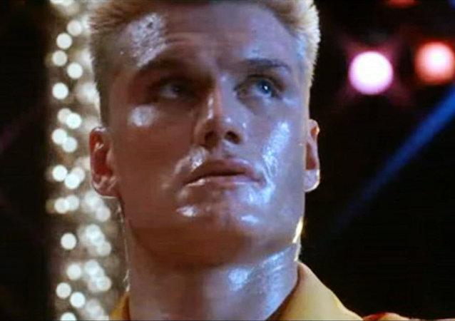 Iván Drago, boxeador soviético en la película 'Rocky IV'
