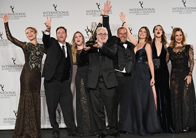 La brasileña Verdades secretas gana el Emmy