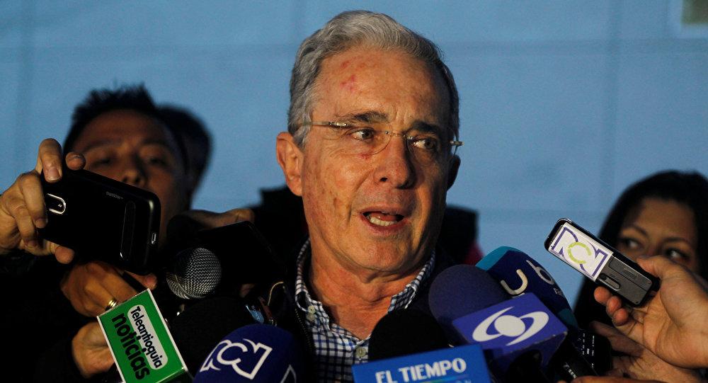 Álvaro Uribe Vélez, expresidente de Colombia