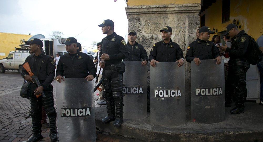Policías colombianos (archivo)