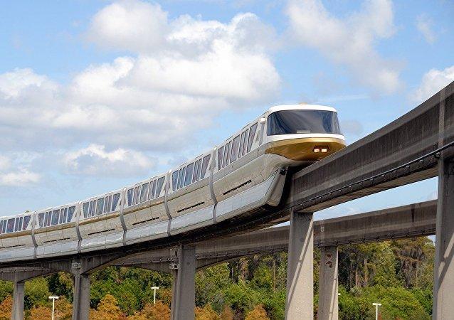 Un tren (ilustración)