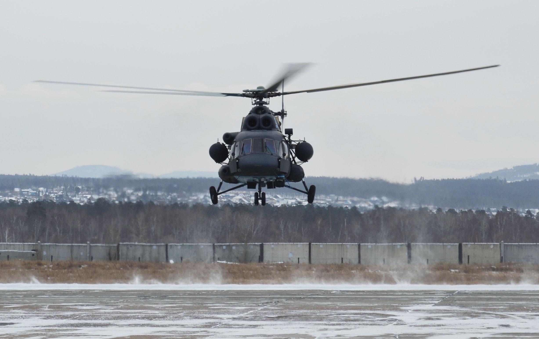 Helicóptero Mi-8AMTSh-BA (archivo)