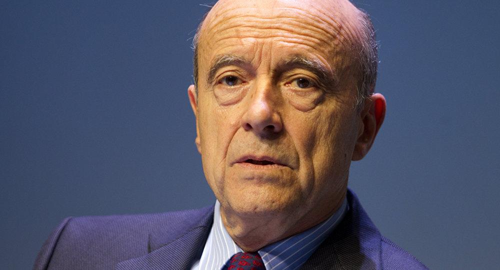 Alain Juppé, ex primer ministro de Francia