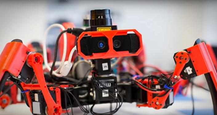 Araña-robot y impresora 3D de Siemens