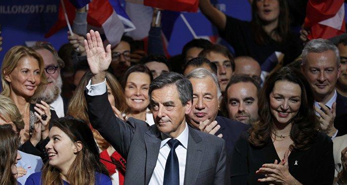 Francois Fillon, precandidato a la Presidencia francesa