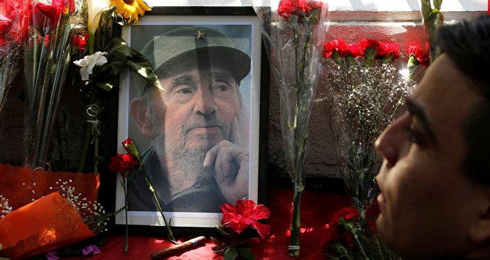 Chile se despide de Fidel Castro