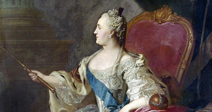 Catalina II de Rusia, llamada Catalina la Grande