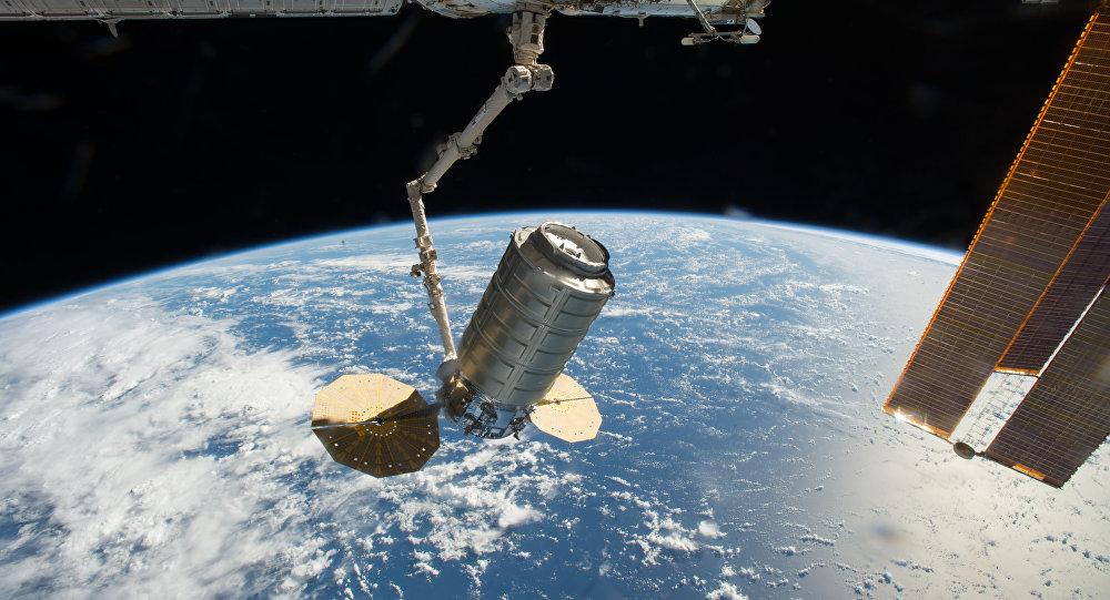 La nave de carga no tripulada Cygnus