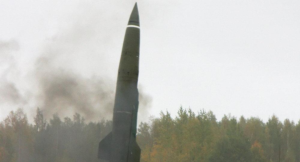 Un misil balístico emplazado en la región de Kaliningrado