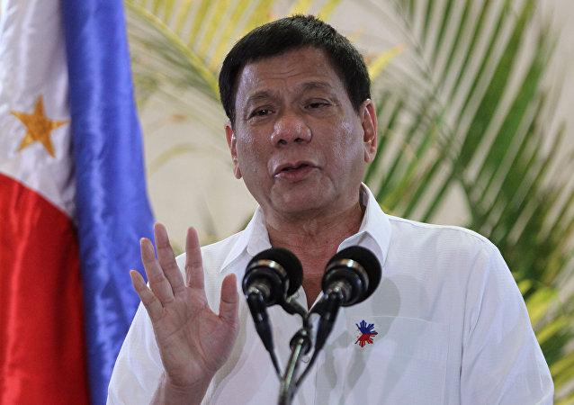 Rodrigo Duterte, el presidente de Filipinas