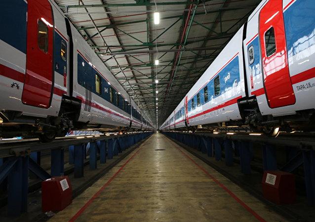 El tren Moscú-Berlín