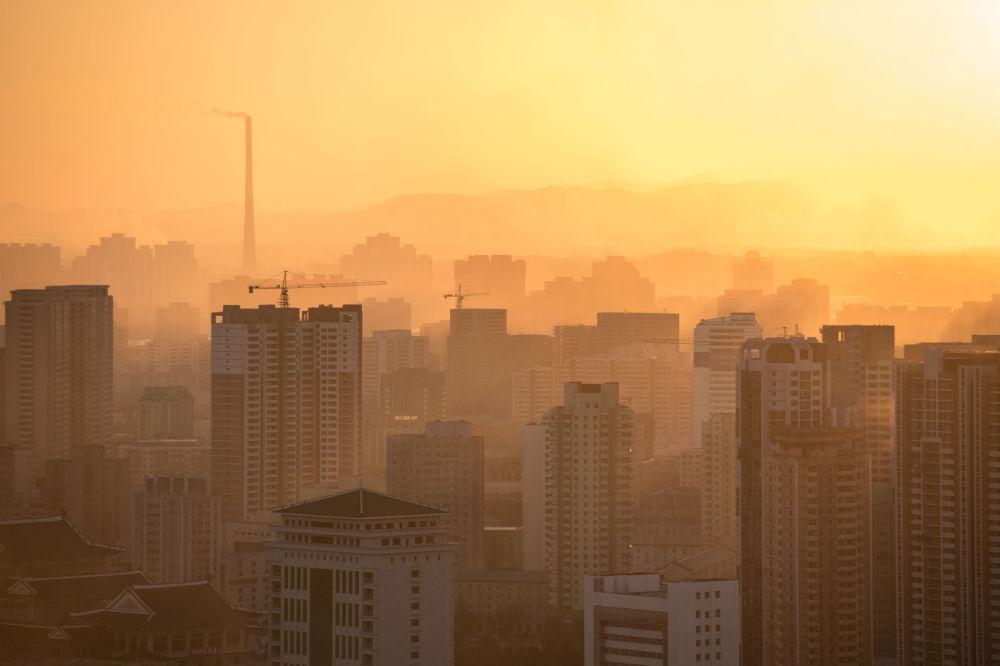 Vista de Pyongyang