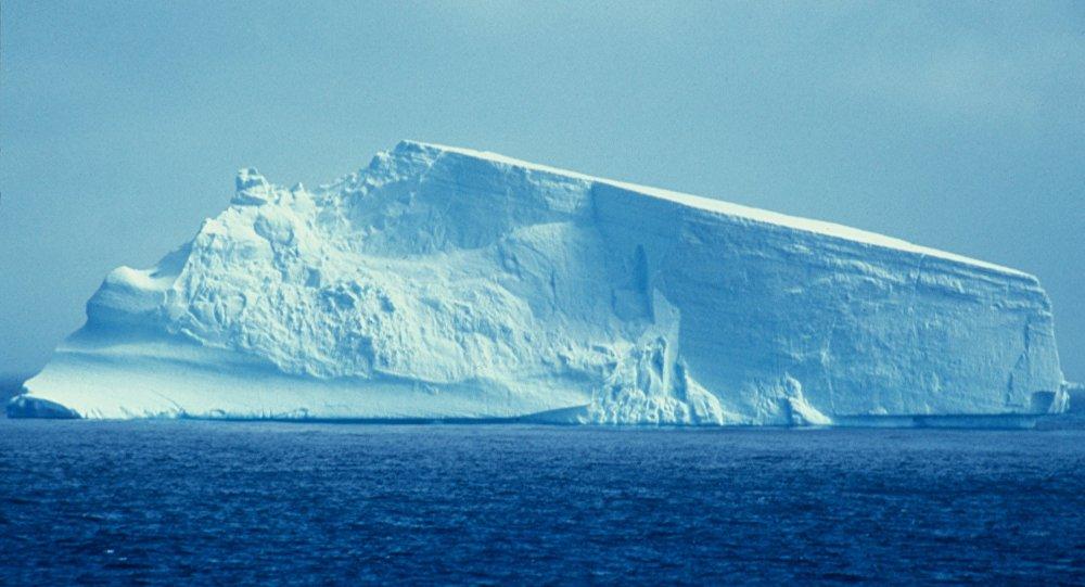 Un glaciar de Antártida