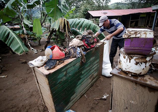 Consecuencias del huracán Otto en Costa Rica
