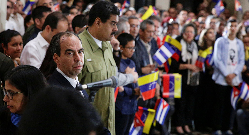 Rogelio Polanco y Nicolas Maduro
