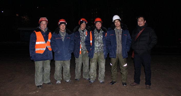 Trabajadores norcoreanos en Rusia