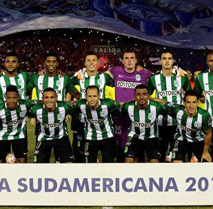 El equipo del club Atlético Nacional