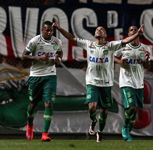 Los futbolistas del club brasileño Chapecoense (archivo)
