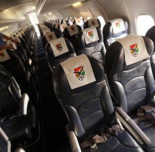 Avión del equipo Chapecoense