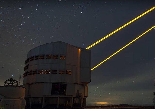 Sorprendentes imágenes aéreas del Observatorio Europeo Austral