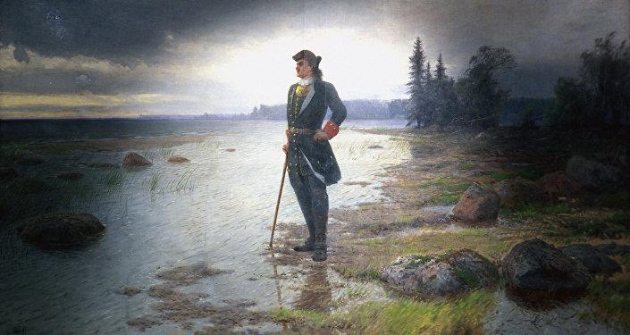 Retrato del zar Pedro el Grande