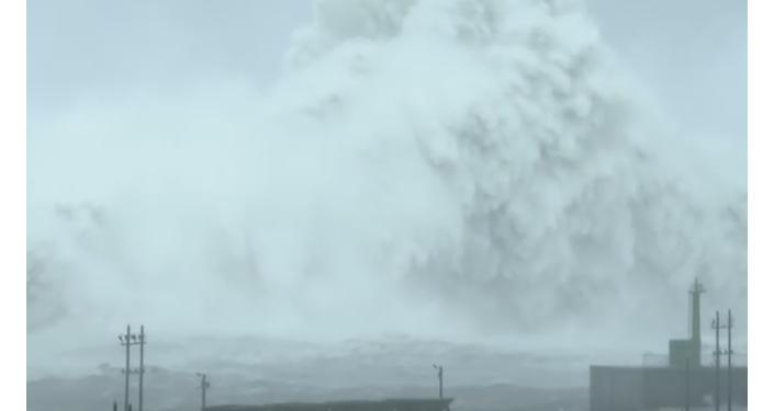 El tifón Megi