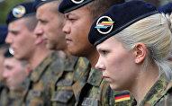 Soldados alemanes