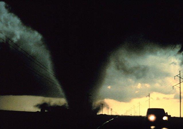 Un tornado (imagen ilustrativa)